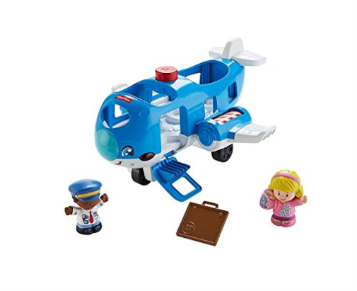 LITTLE PEOPLE TRAVEL TOGETHER AIRPLANE