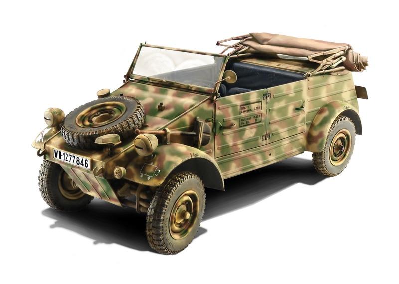 Italeri #7405 1/9 Type 2 Kubelwagen