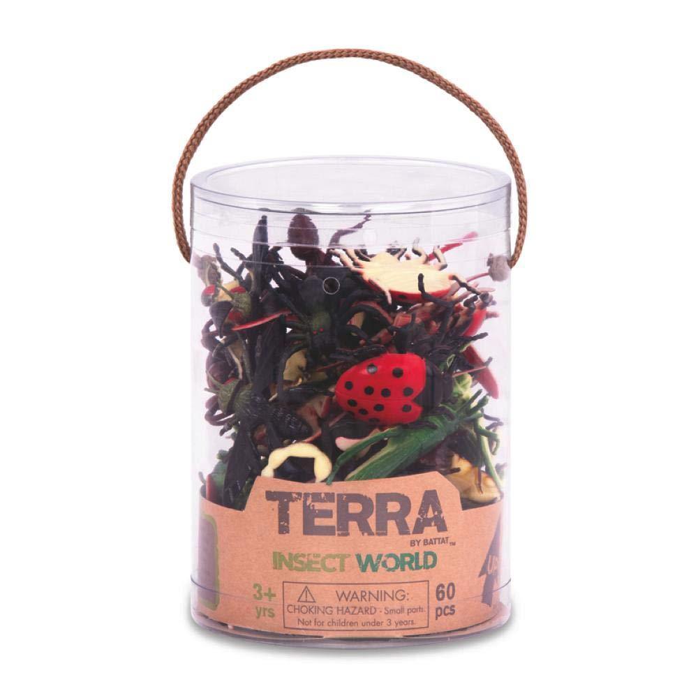 TERRA INSECTS TUB 60 PCS