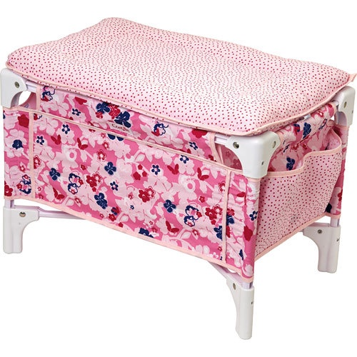 DOLL BED AND CHANGING TABLE