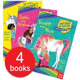 UNICORN ACADEMY SLIPCASE (4 BOOKS)