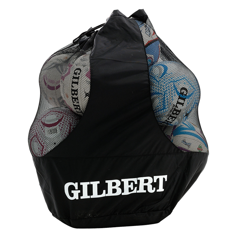 Netball Ball Bag (2 straps - holds 12 balls)