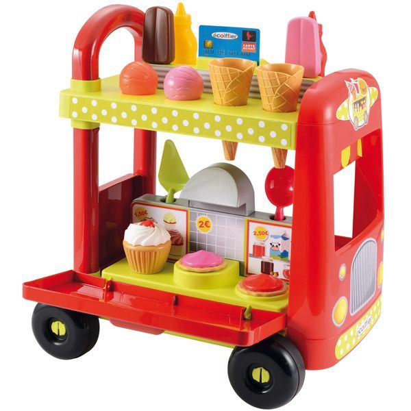 ICE CREAM TROLLEY & ACCESSORIES