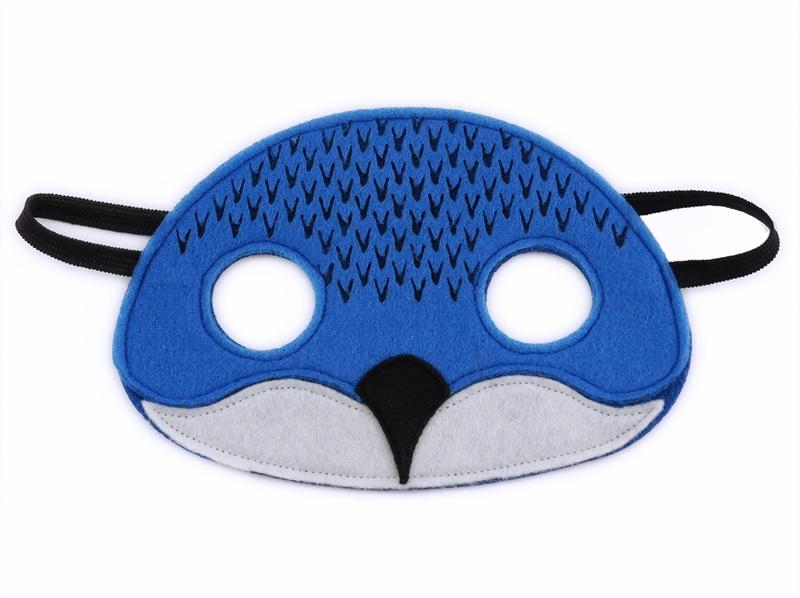 Billy the Blue Penguin Mask