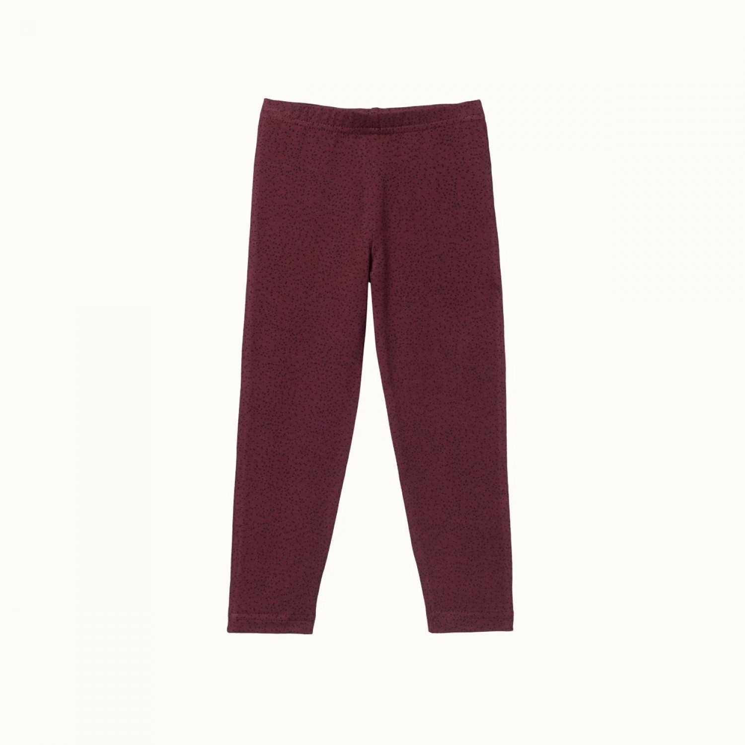 LEGGINGS - SMALL SPECKLE MULBERRY PRINT