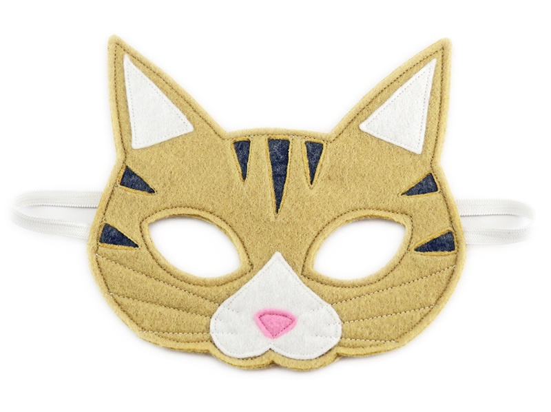 Alfred the Tabby Cat Mask