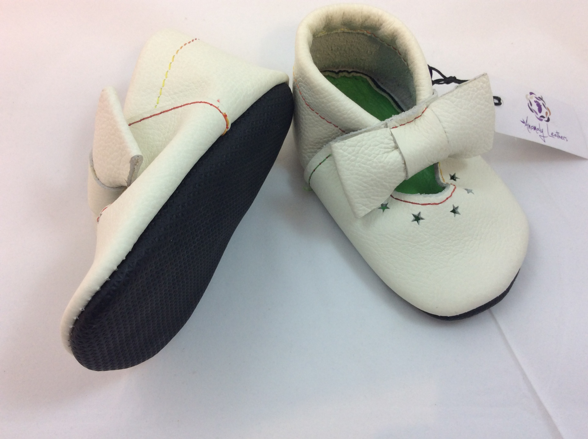 Leather Baby Shoes fit approx 15 21 months Atelier Crafers