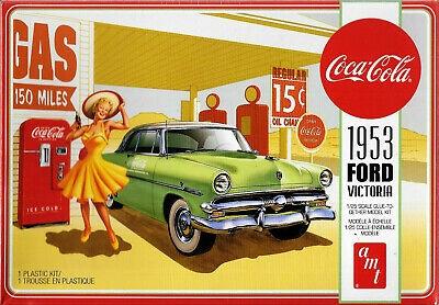 AMT# 1146   1/25 1953 Ford Victoria (coke)