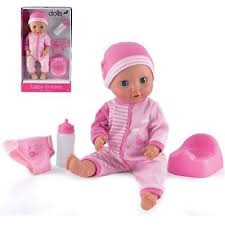 DOLL'S WORLD BABY TINKELS DOLL PINK