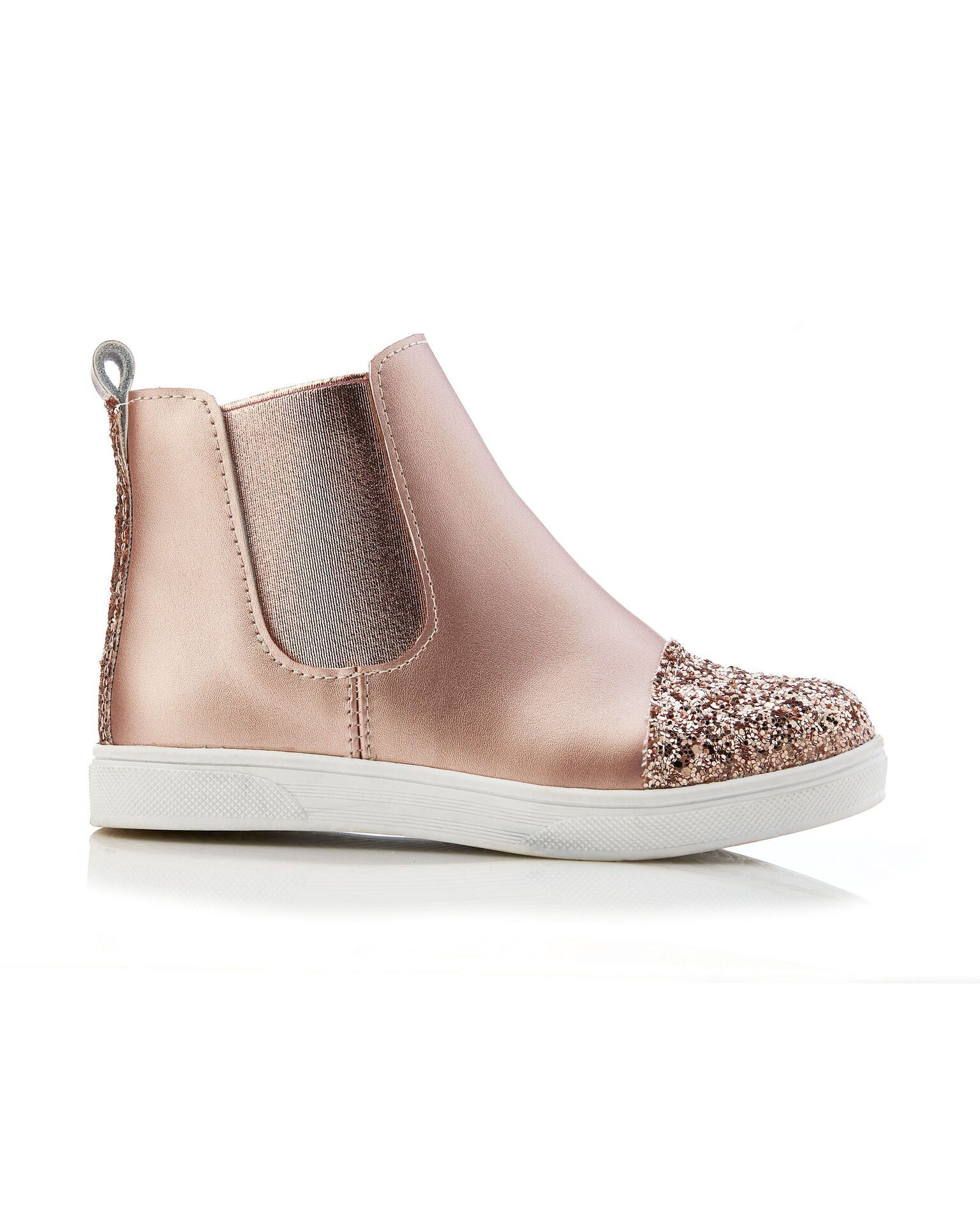 Walnut Jasmine Boot Rose Gold