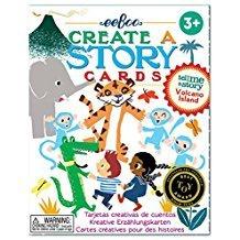 CREATE A STORY CARDS VOLCANO ISLAND
