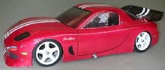 Frewer #FR9NW 1/10 Mazda RX-7 Body Shell