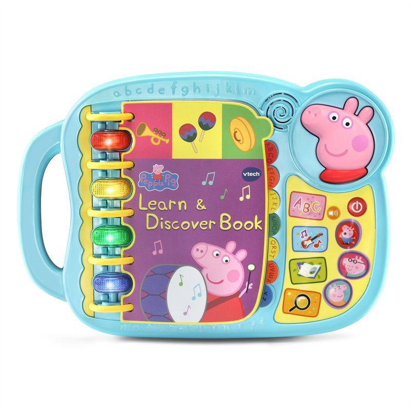 PEPPA PIG LEARN & DISCOVER BOOK