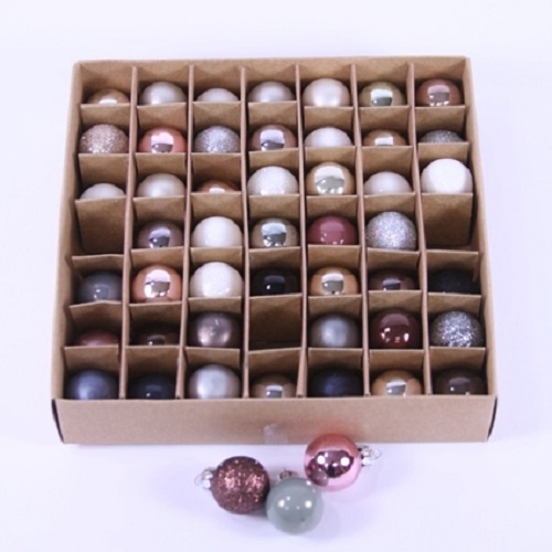 Boxed Ornaments   Neutral