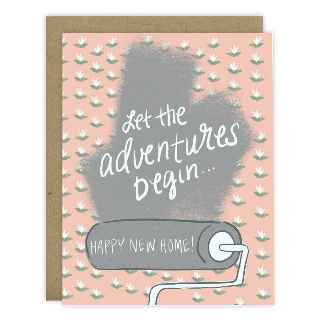 Let The Adventures Begin Card