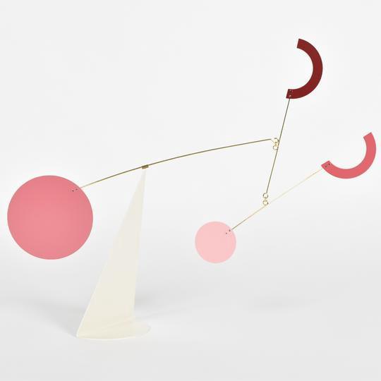 Pink Moon Standing Mobiles