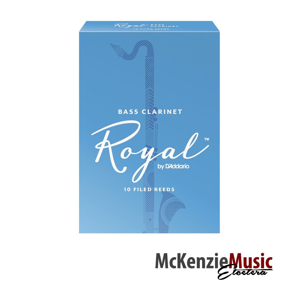 Rico Royal Bass Clarinet Reeds Box