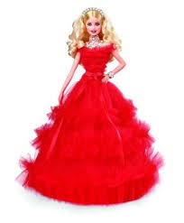 HOLIDAY 2018 BARBIE DOLL