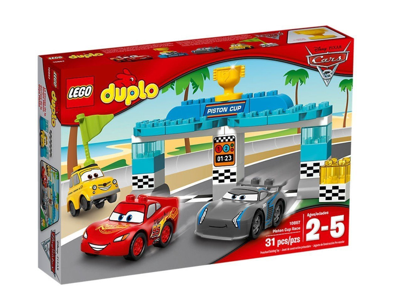 LEGO DUPLO DISNEY CARS 3 PISTON CUP RACE