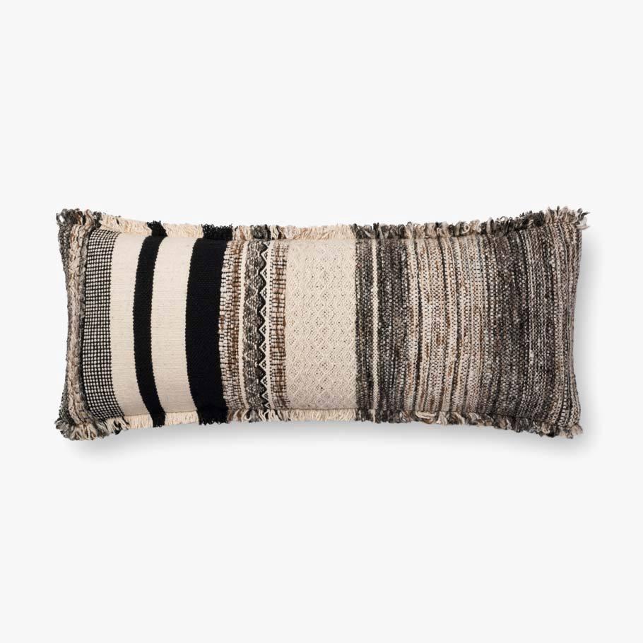 Woven Texture Lumbar Pillow