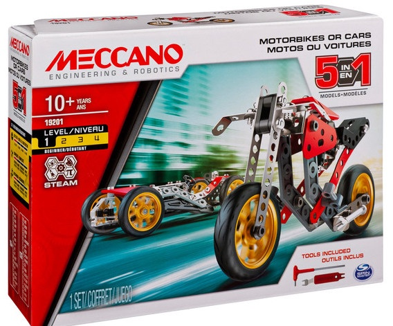 Meccano #6053371 5 Model Set Street Fighter