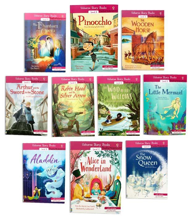 USBORNE STORY BOOKS LEVEL 2 (10 BOOKS)