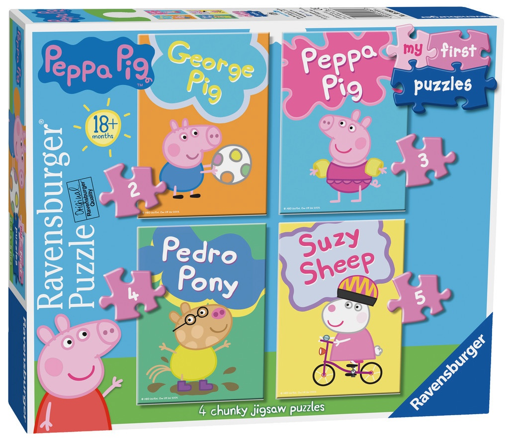 PEPPA PIG 4 MY FIRST PUZZLE