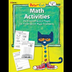 EP 63512 PETE THE CAT MATH ACTIVITIES GRADE K