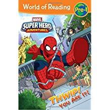 MARVEL SUPER HERO ADVENTURES THWIP! YOU ARE IT! (PB)