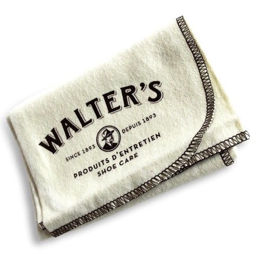 WALTER'S SHOE CARE - PREMIUM SHOE SHINE CLOTH