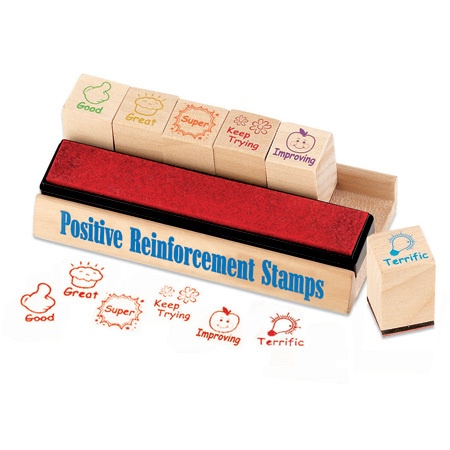 EI 1656 POSITIVE REINFORCEMENT STAMPS