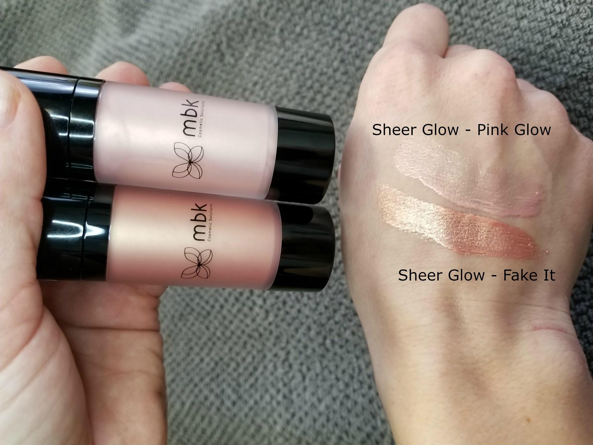 Sheer Glow - Fake It