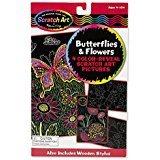 SCRATCH ART BUTTERFILES & FLOW