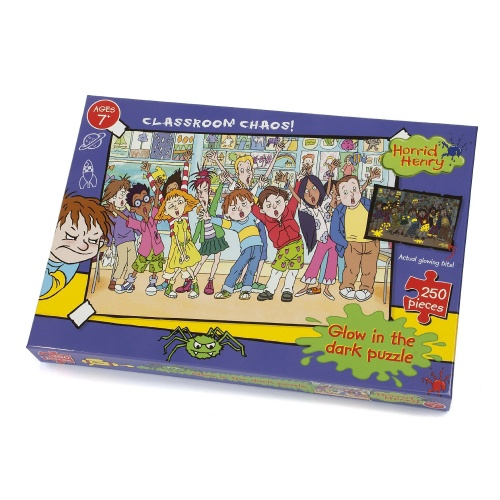 HORRID HENRY CLASSROOM CHAOS PUZZLE 250