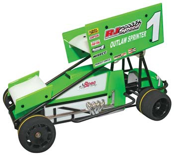 RJ Speed #RJS2030 1/10 Electric Outlaw Sprint Car Kit