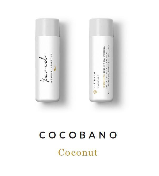 CocoBano Coconut Lip Balm