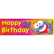 T 12061 HAPPY BIRTHDAY FROGTASTIC BOOKMARK