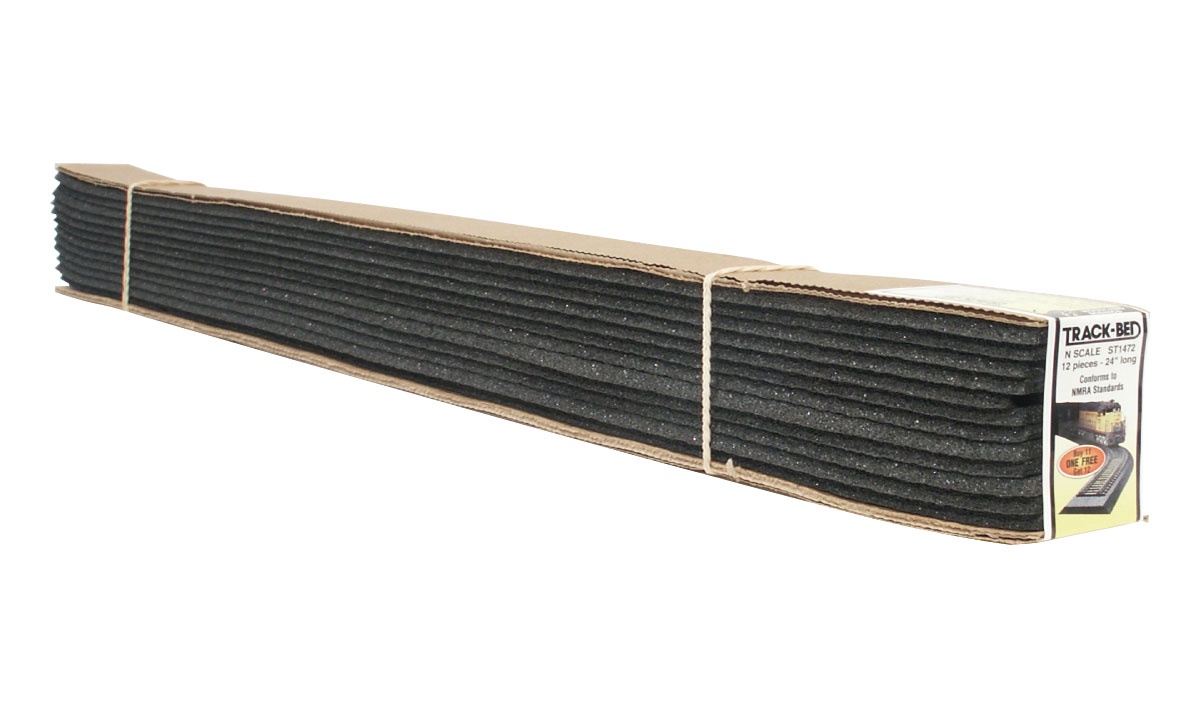 Woodland Scenics #ST1472 N Scale Track Bed