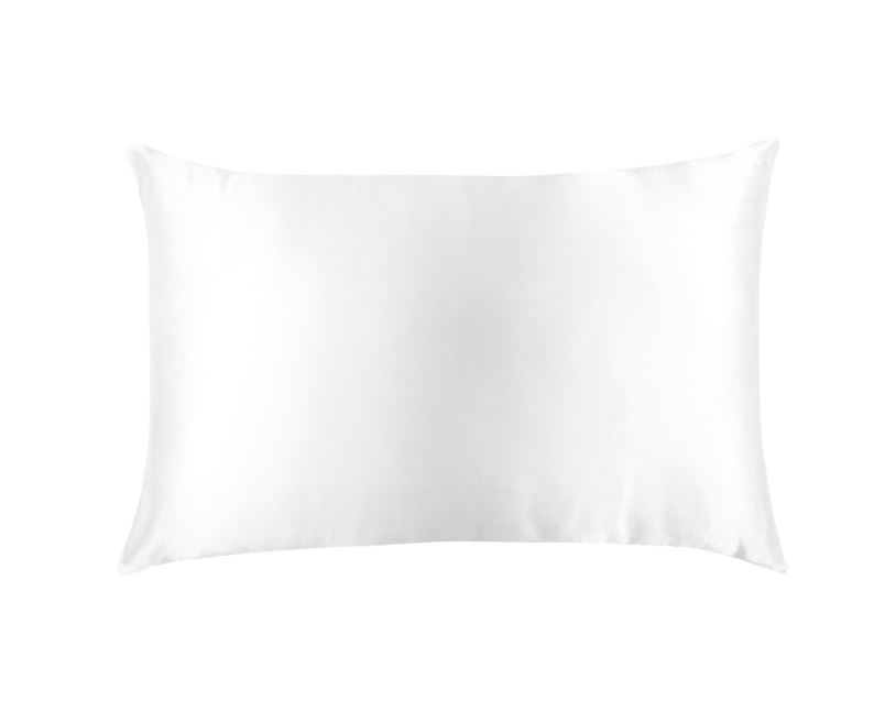 PURE SILK PILLOWCASE - ARCTIC WHITE