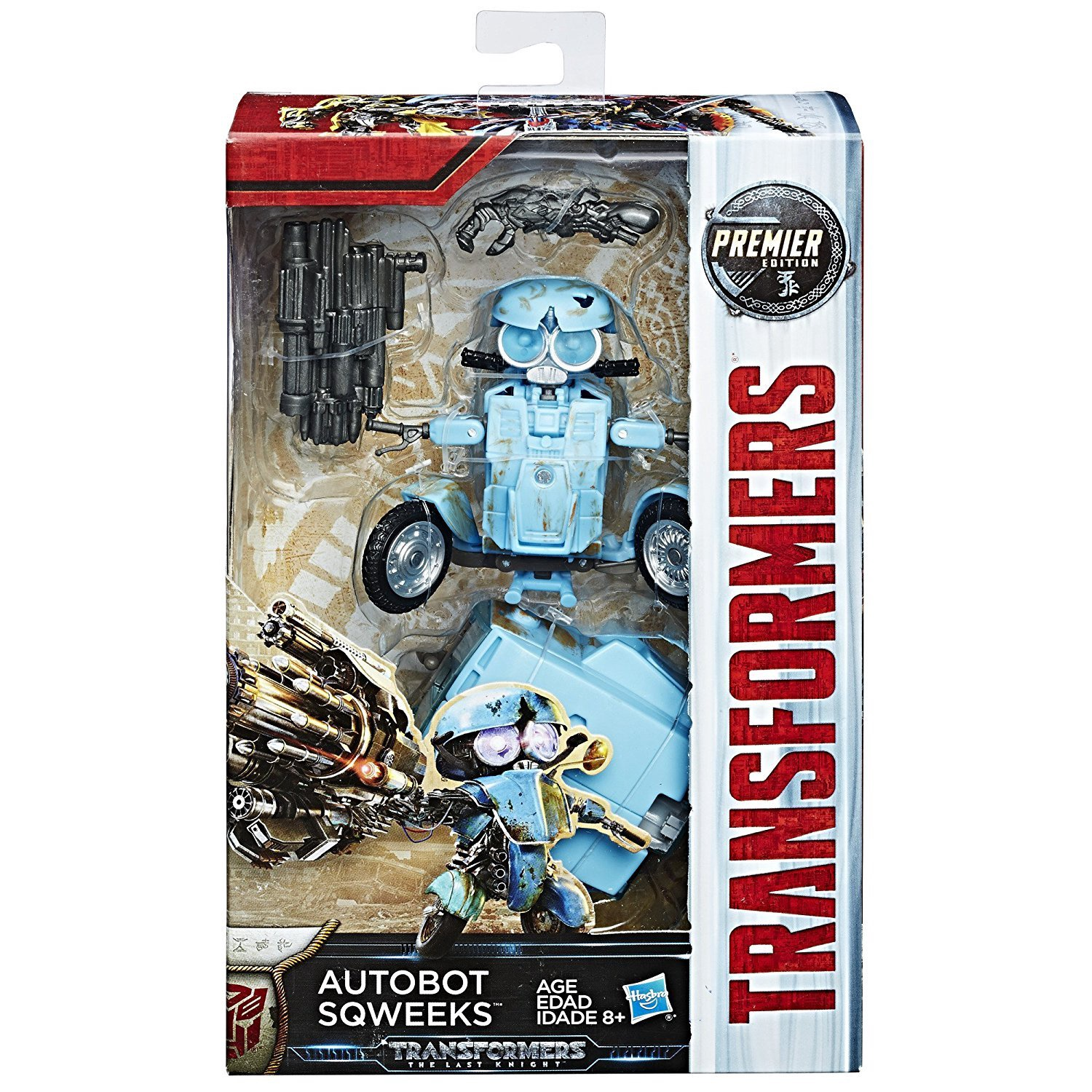 TRANSFORMERS THE LAST KINGHT AUTOBOT SQWEEKS
