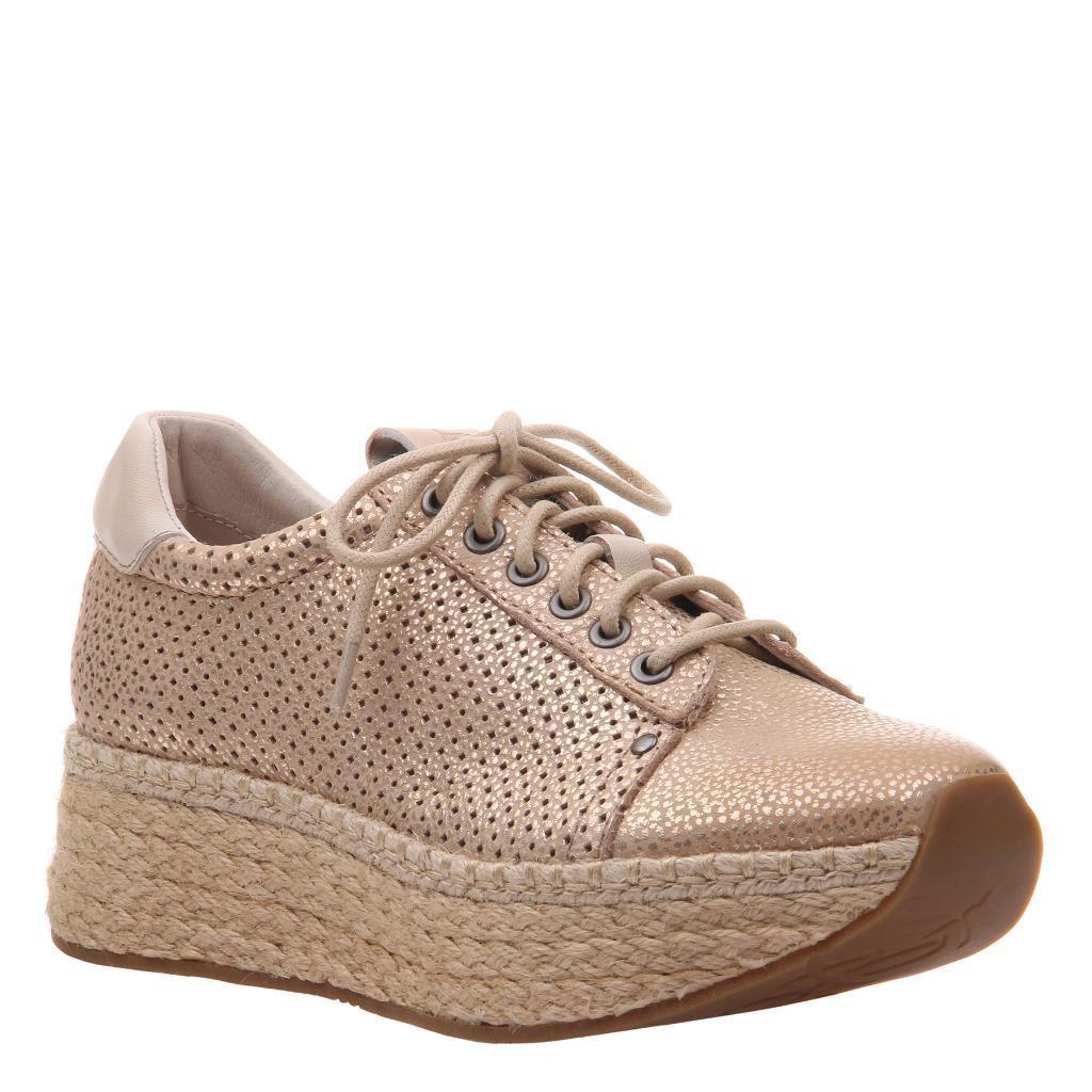 OTBT Meridian Gold Platform Sneaker