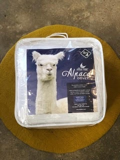 KING SINGLE/DOUBLE  ALPACA DUVET INNER