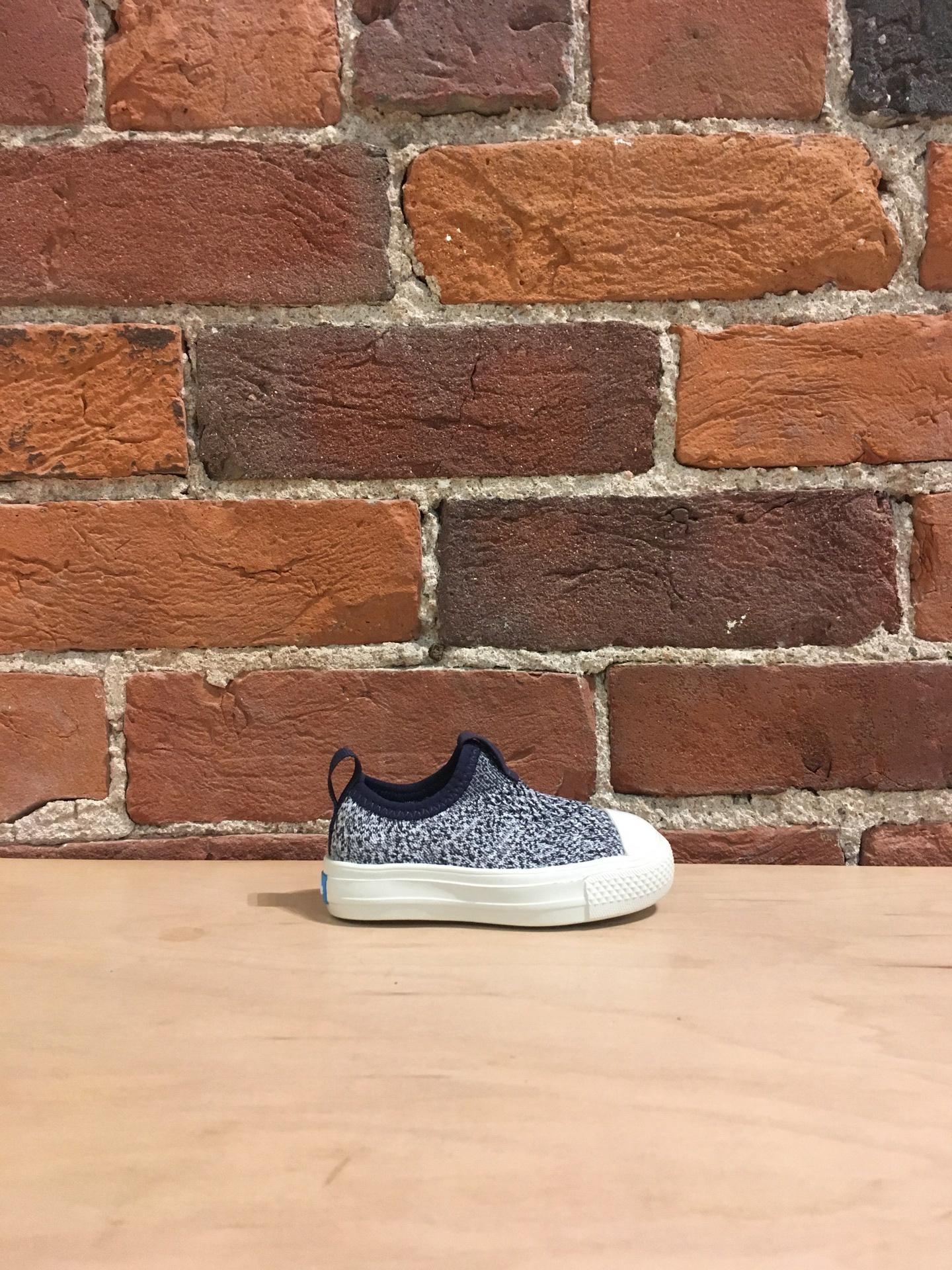 PEOPLE FOOTWEAR - THE PHILLIPS CHILD KNIT IN PADDINGTON BLUE/YETI WHITE