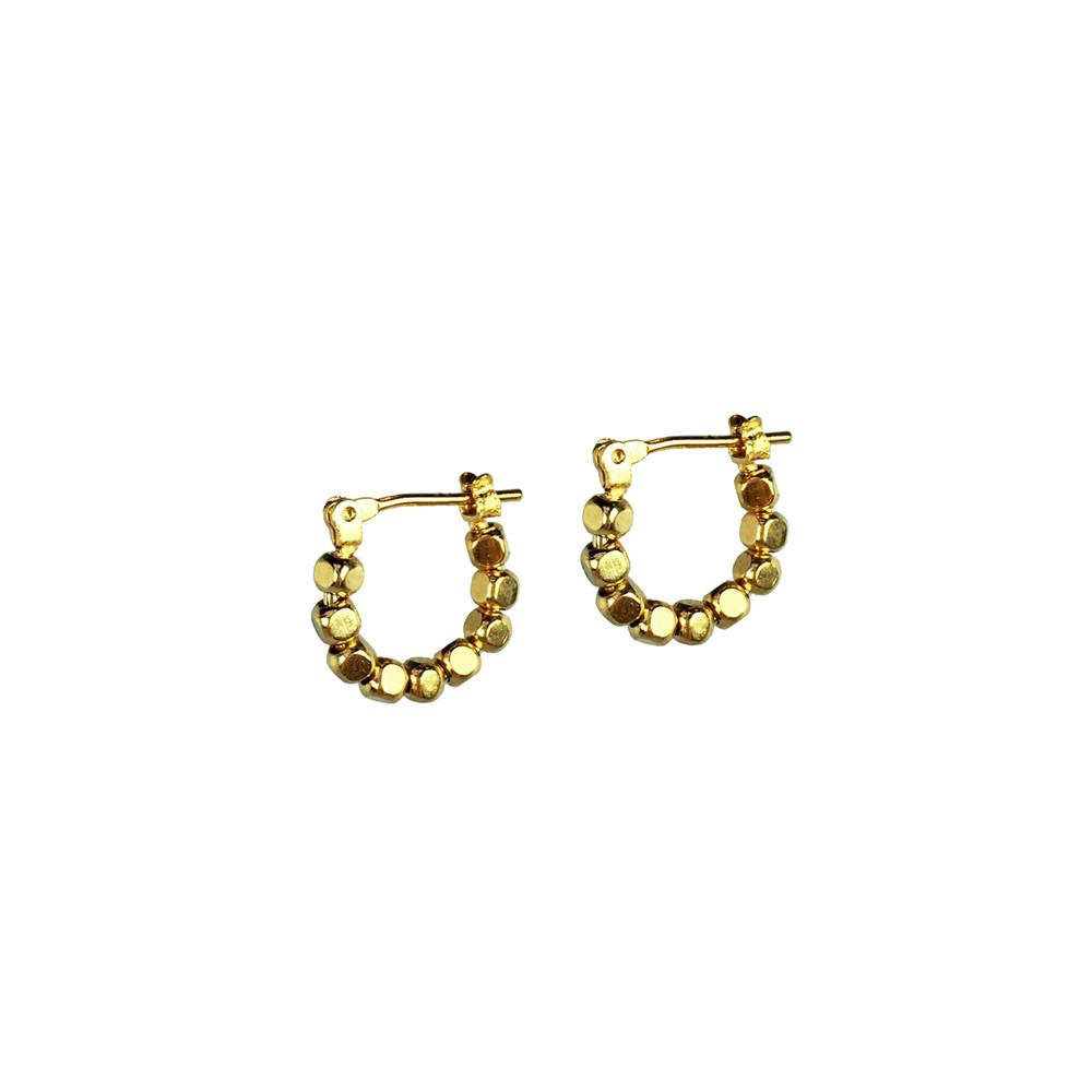 BIKO - MINI KOBI LOOPS IN GOLD