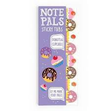 NOTE PALS STICKY NOTE TABS DONUTS AND CUPCAKES