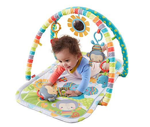 FISHER PRICE SNUGAMONKEY MUSICAL PLAY GYM