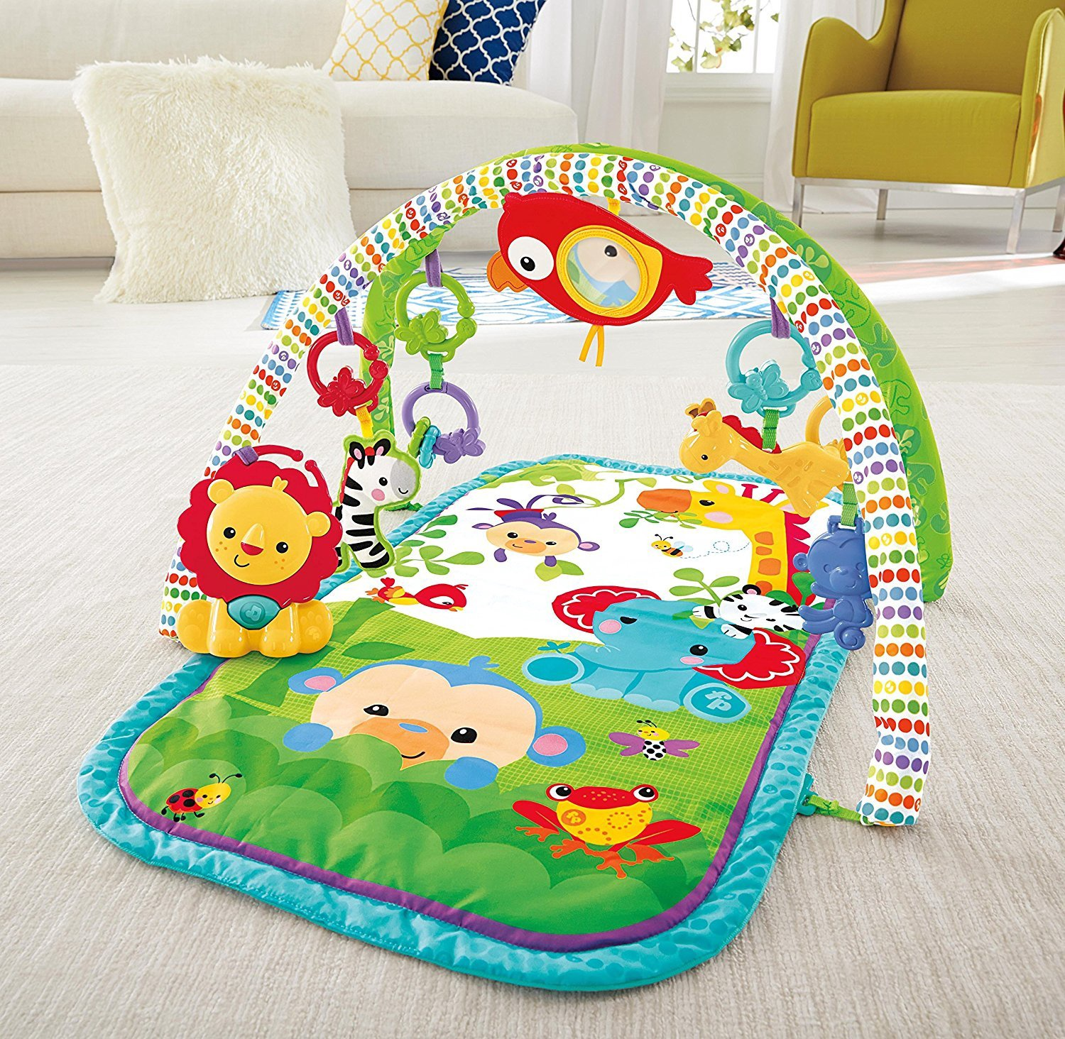 RAINFOREST 3 IN 1 MUSICAL ACTIVITY GYM