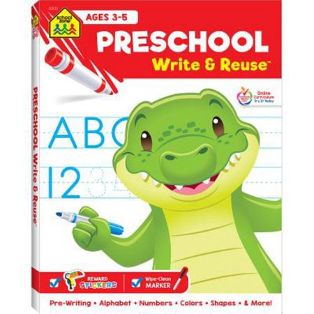PRESCHOOL WRITE & REUSE AGES 3-5