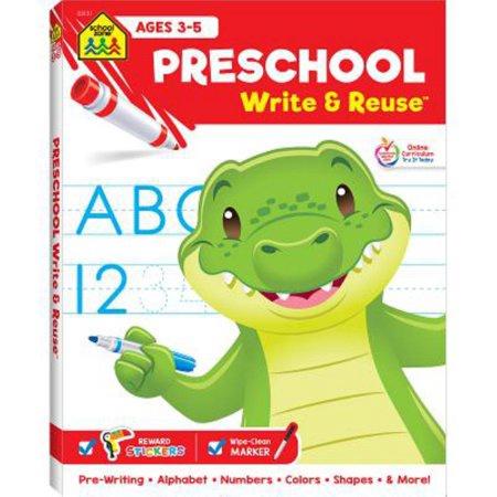 PRESCHOOL WRITE & REUSE AGES 3-5