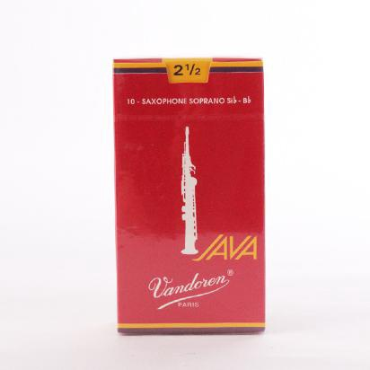 Vandoren Java Red Soprano Sax Reed Box